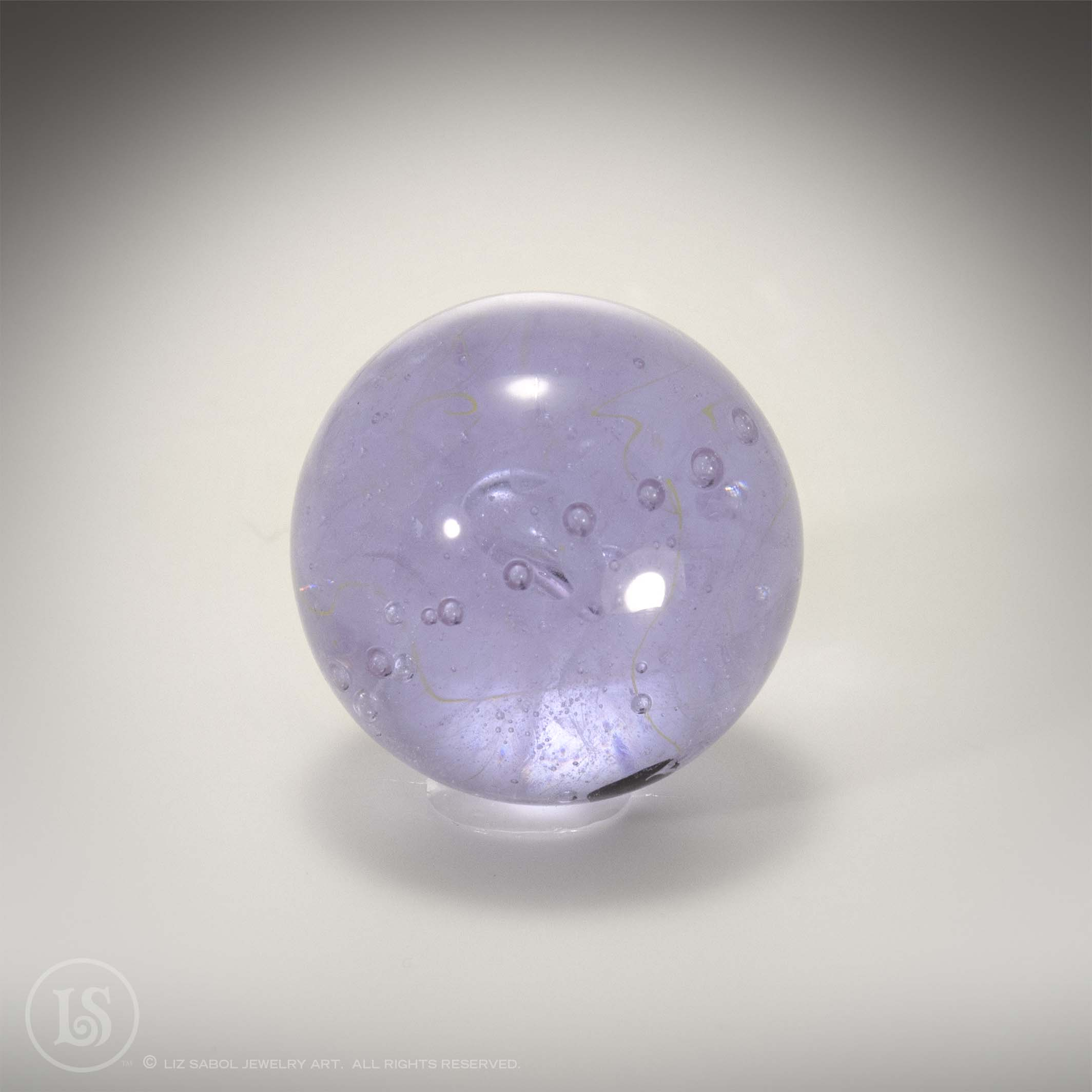 Purple or Pink Marble, Glass